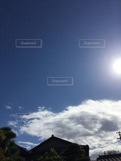 空の青が深い。の写真・画像素材[1513393]