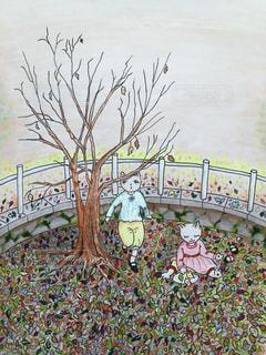 小春日和の公園で。の写真・画像素材[1662351]