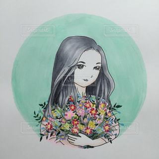 かわいいお花。エムタン。の写真・画像素材[1824071]