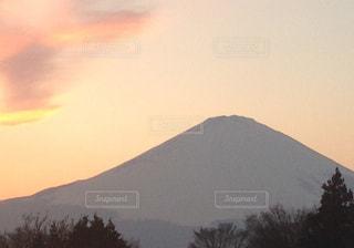 富士山の夕景の写真・画像素材[1514387]