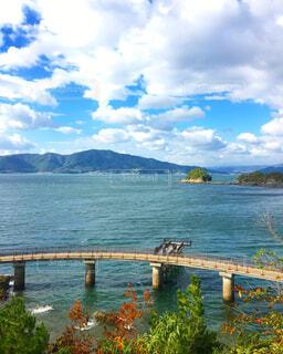 笠戸島海上遊歩道の写真・画像素材[1513036]