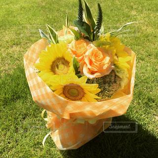 ステキな花束の写真・画像素材[1513179]
