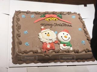 クリスマスケーキの写真・画像素材[2423468]