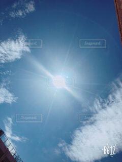空と太陽の写真・画像素材[1513394]