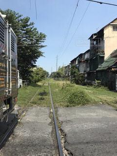 線路の写真・画像素材[1513997]