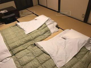 旅館の寝室の写真・画像素材[1516364]