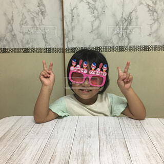 誕生日の娘の写真・画像素材[1516712]