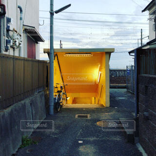 異世界への入口の写真・画像素材[1703069]
