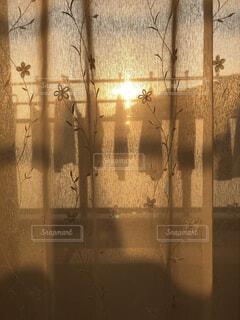 夕方のバルコニーの写真・画像素材[1787288]
