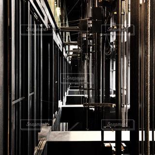 エレベーターシャフトの写真・画像素材[2082604]