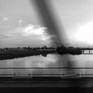 渡る鉄橋の写真・画像素材[2162247]