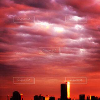 夕焼け空の写真・画像素材[2475378]