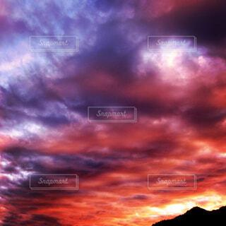 夕焼け空の写真・画像素材[2475380]