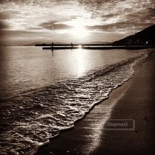 冬の海岸の写真・画像素材[2709981]