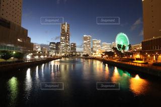 横浜の夜景の写真・画像素材[1518447]