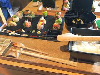 手織り寿司の写真・画像素材[1542478]