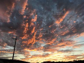 ある日の夕暮れの写真・画像素材[1522081]