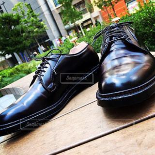 革靴が綺麗に佇んでいるの写真・画像素材[1519733]