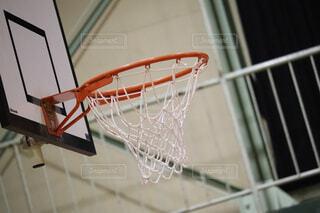 バスケットゴールの写真・画像素材[1533172]