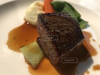 フルコース 肉料理の写真・画像素材[1558209]