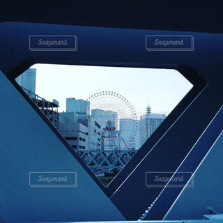 ダイヤモンドの中の観覧車の写真・画像素材[1521743]