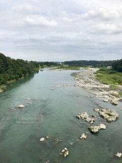 広い川の写真・画像素材[1525893]