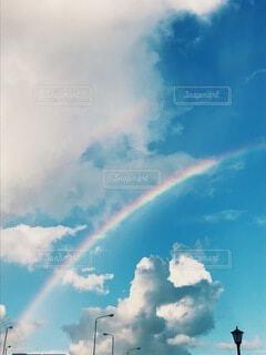 虹の架け橋の写真・画像素材[3883560]