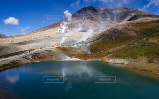 北海道旭岳姿見の池の写真・画像素材[1525237]