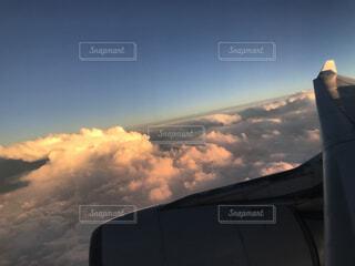 雲の上の写真・画像素材[1528757]
