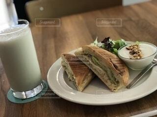 台湾で食べた朝食。の写真・画像素材[1572820]