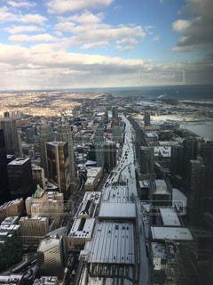 高いところからの景色の写真・画像素材[1526471]