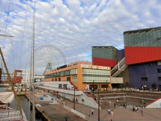 大阪港サンタマリアからの写真・画像素材[1526602]