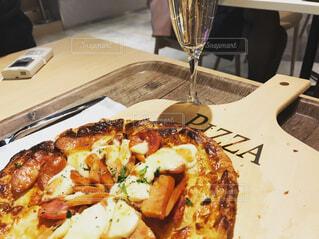 ペスカのピザの写真・画像素材[1601156]