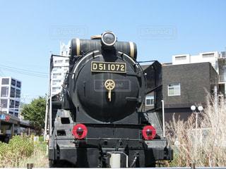 鋼のトラックの列車の写真・画像素材[1740750]