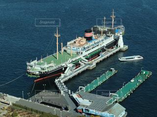 水体の大型船の写真・画像素材[1758414]