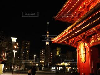 夜の街の写真・画像素材[1758709]