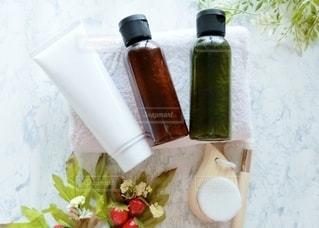 基礎化粧品 洗顔ブラシの写真・画像素材[3599409]