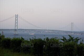 明石海峡大橋 淡路島側からの写真・画像素材[3751826]