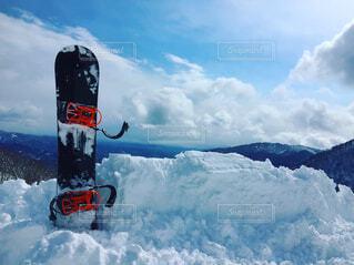 スノーボードの写真・画像素材[1526802]