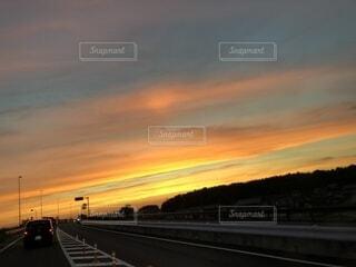 夕焼けの写真・画像素材[1526807]