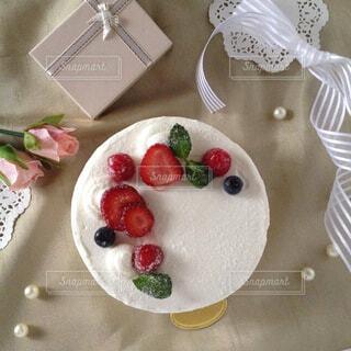 いちごのショートケーキの写真・画像素材[1527426]