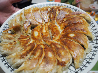 焼きたてパリパリ餃子の写真・画像素材[1566971]