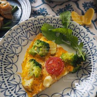 春野菜のスパニッシュオムレツの写真・画像素材[1863400]
