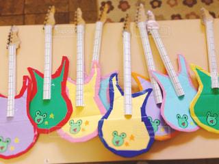 手作りギターの写真・画像素材[1580233]