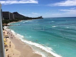 ハワイのビーチの写真・画像素材[4032293]