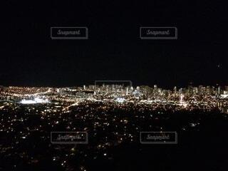 ハワイの夜景の写真・画像素材[4032295]