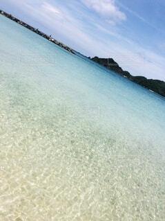 笹子ビーチの写真・画像素材[4032318]