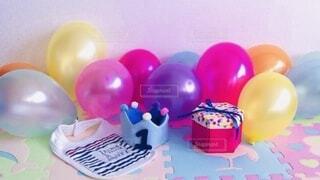 1歳の誕生日の写真・画像素材[4032362]