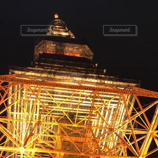 東京タワーは下からの写真・画像素材[1531502]