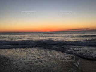 冬の夜明けの写真・画像素材[1531796]